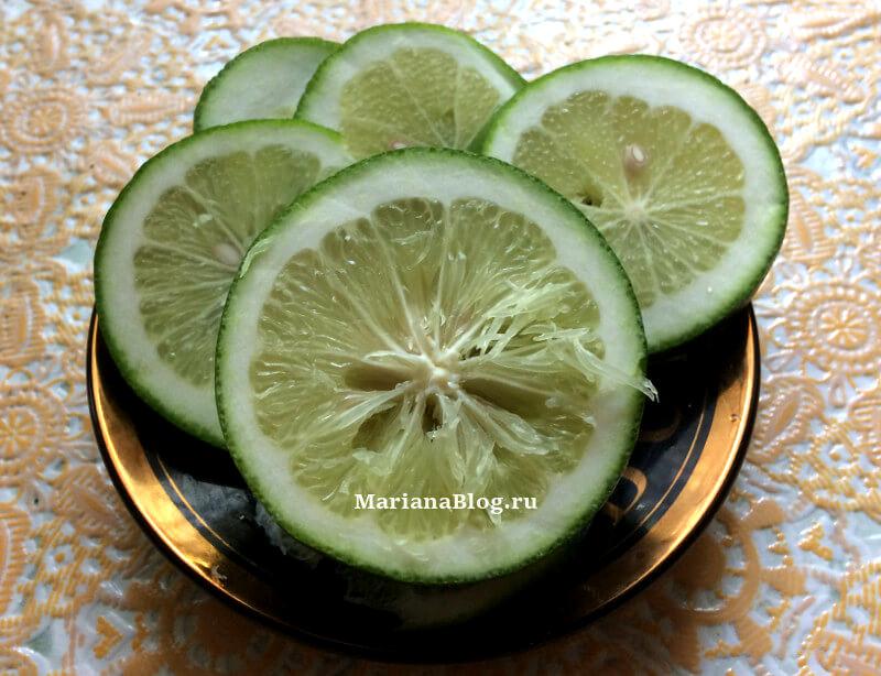 Недозревший лимон «Пандерозы»
