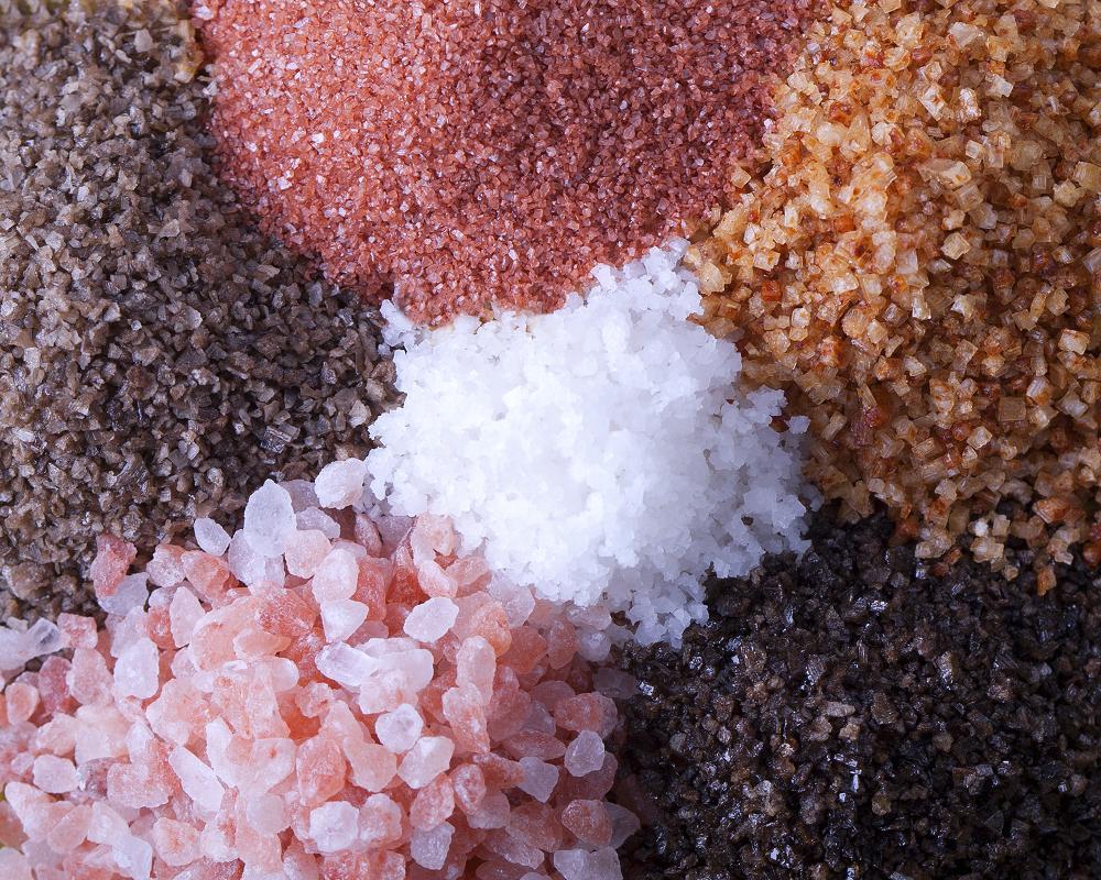 виды соли. полезная соль