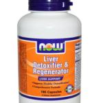Liver Detoxifier & Regenerator Now Foods, Восстанавливающее и выводящее токсины средство для печени